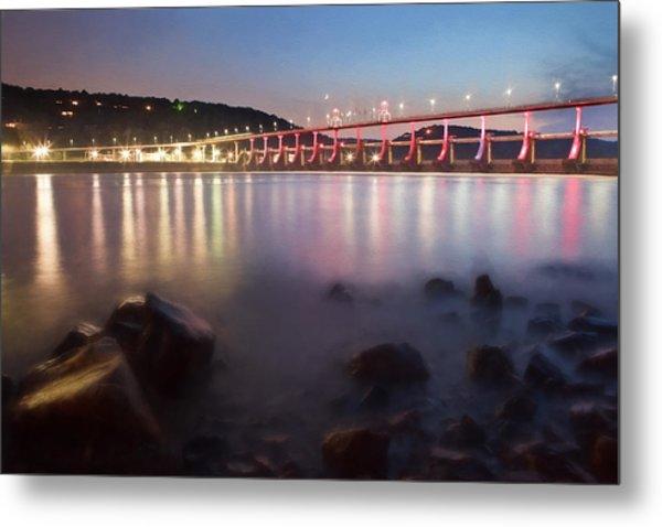 Big Dam Bridge Metal Print