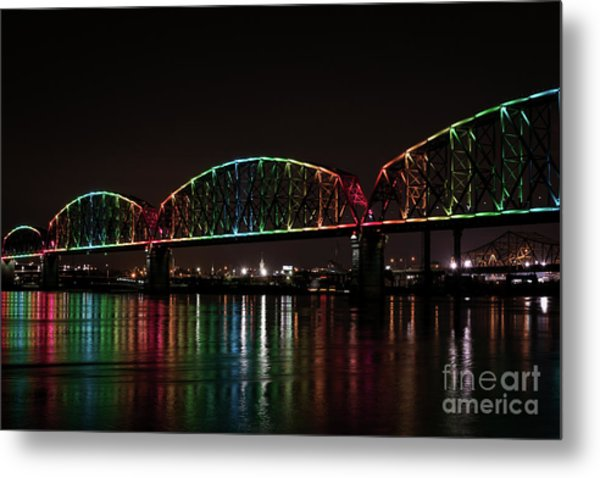 Big Four Bridge 2215 Metal Print