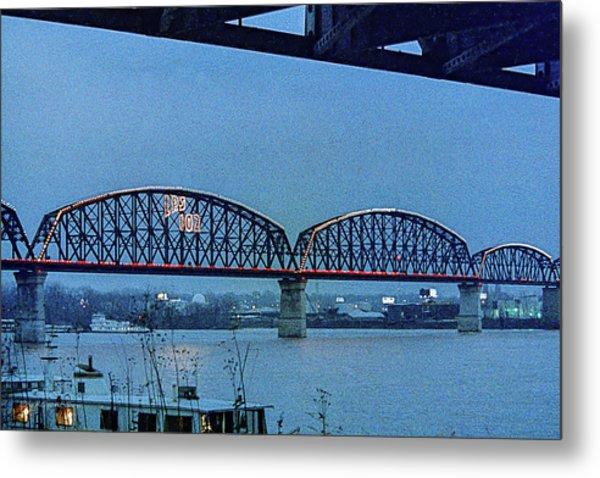 Big Four Bridge Metal Print