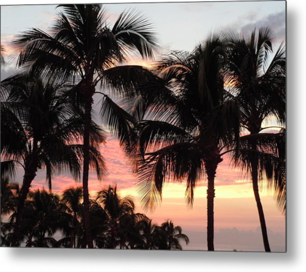Big Island Sunset 1 Metal Print