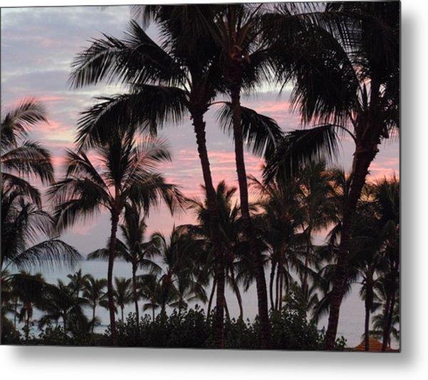 Big Island Sunset 2 Metal Print