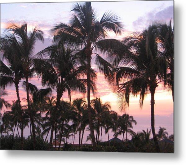 Big Island Sunset 3 Metal Print
