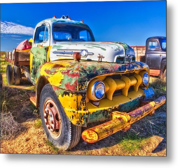 Big Job - Wide Metal Print
