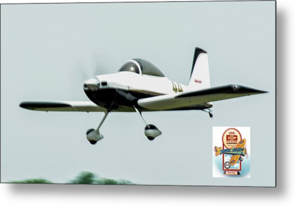 Big Muddy Air Race Number 44 Metal Print