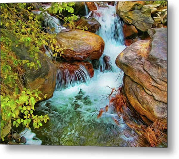 Big Pine Creek Metal Print