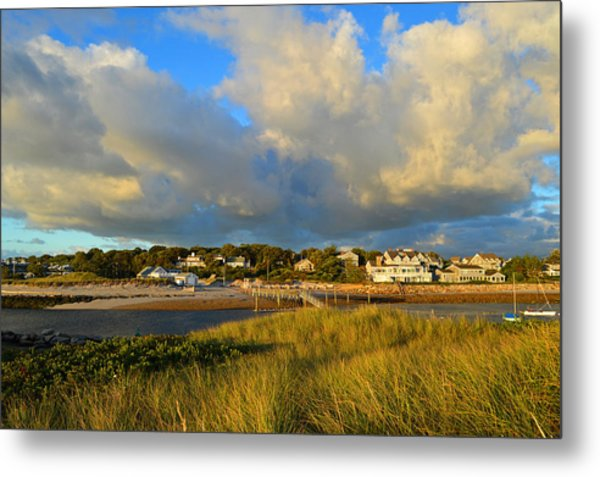 Big Sky Over Sesuit Harbor Metal Print