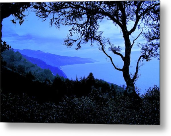 Big Sur Blue, California Metal Print