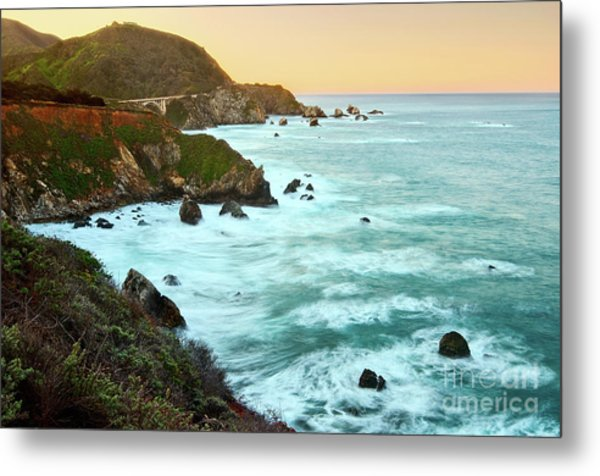 Big Sur Sunrise Metal Print
