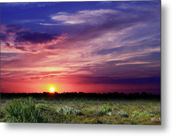 Big Texas Sky Metal Print