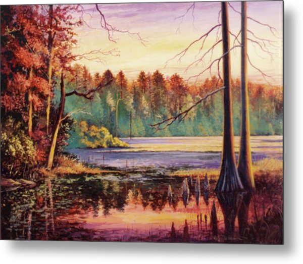 Big Thicket Swamp Metal Print