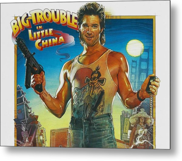 Big Trouble In Little China Metal Print