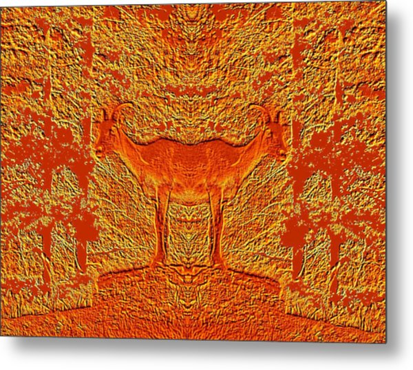 Bighorn Indecision Metal Print