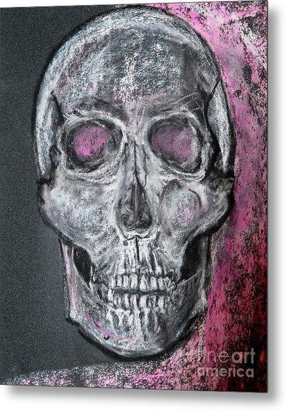 Billie's Skull Metal Print