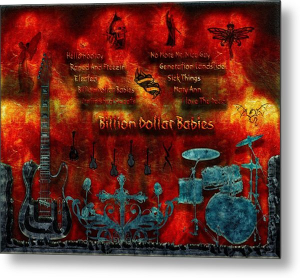 Billion Dollar Babies Metal Print