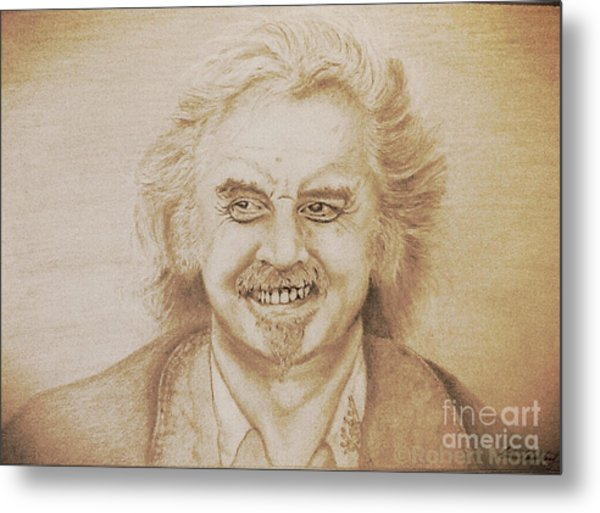 Billy Connolly Metal Print