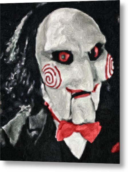 Billy The Puppet II Metal Print