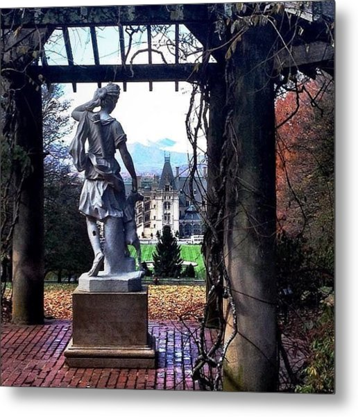 Biltmore Goddess Metal Print by Jen McKnight
