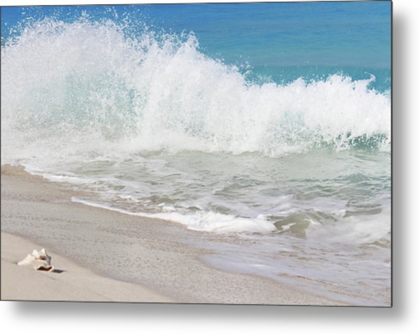 Bimini Wave Sequence 1 Metal Print