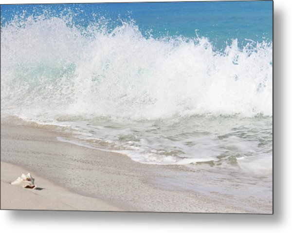 Bimini Wave Sequence 2 Metal Print