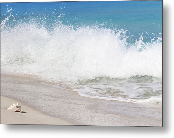 Bimini Wave Sequence 3 Metal Print