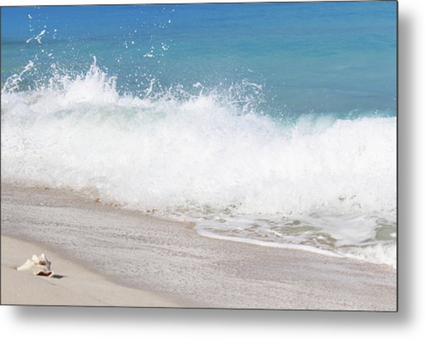 Bimini Wave Sequence 4 Metal Print