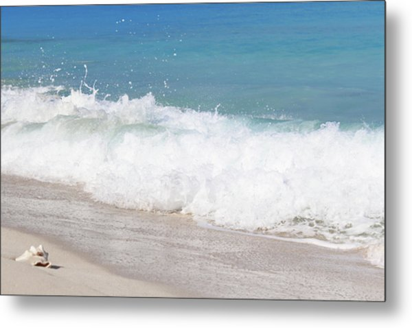 Bimini Wave Sequence 5 Metal Print