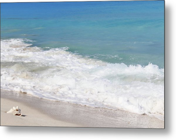 Bimini Wave Sequence 6 Metal Print
