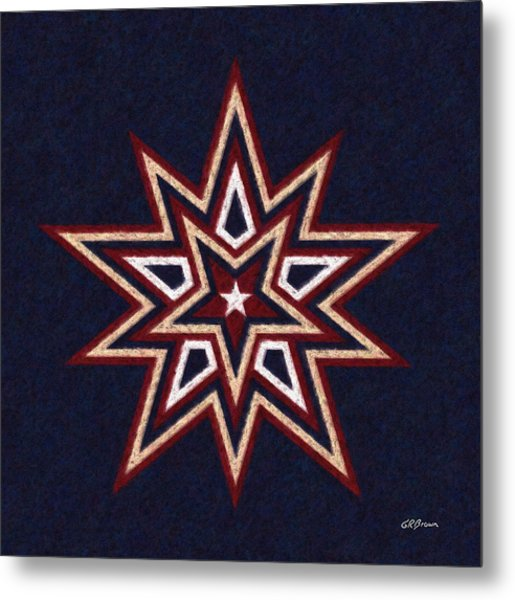 Binary Star Metal Print