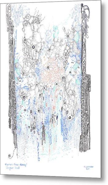 Bingham Fluid Or Paste Metal Print