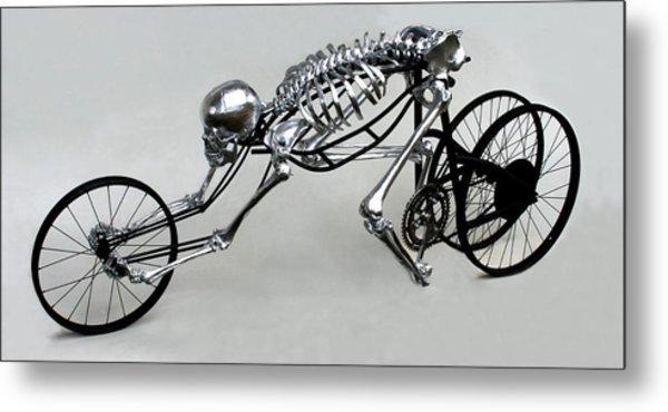 Bio Cycle Metal Print by Jud  Turner