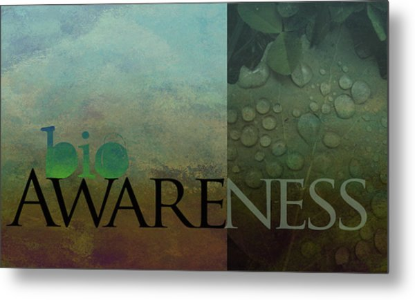 bioAWARENESS II Metal Print
