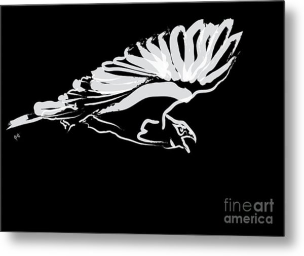 Bird Buzzard  Metal Print