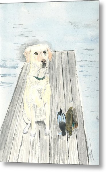Bird Dog Metal Print