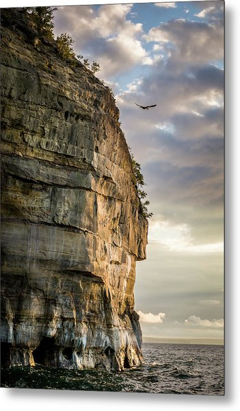 Sunset On The Pictured Rocks Metal Print