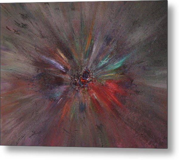 Metal Print featuring the painting Birth Of A Soul by Michael Lucarelli