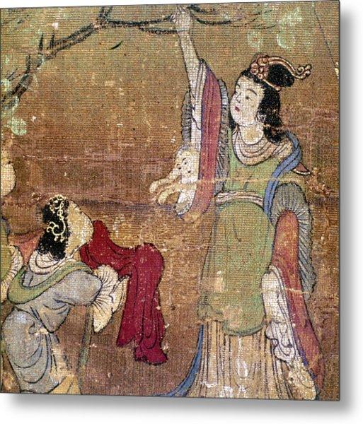 Birth Of Buddha Metal Print