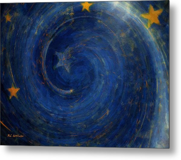 Birthed In Stars Metal Print