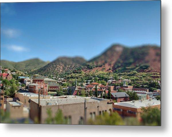 Metal Print featuring the photograph Bisbee Arizona by Dan McManus