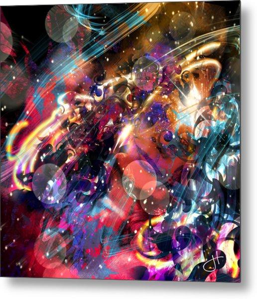 Metal Print featuring the digital art Bitter Sweet Symphony by Jason Hanson