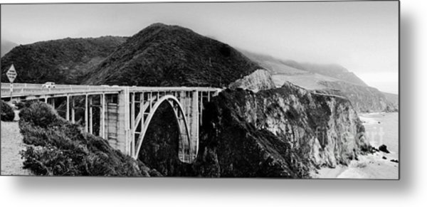 Bixby Bridge - Big Sur - California Metal Print