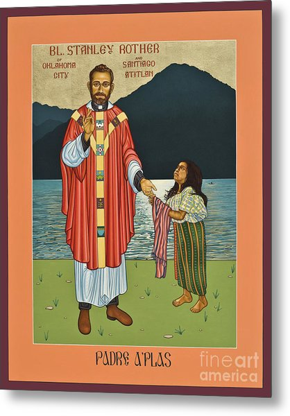 Bl. Stanley Rother - Lwsro Metal Print