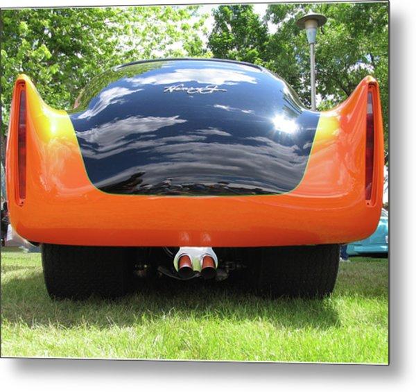 Black And Orange Henry J Metal Print by Tom Tripp