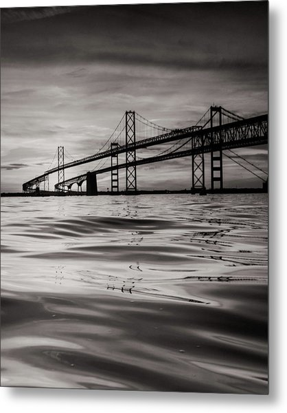 Black And White Reflections 2 Metal Print