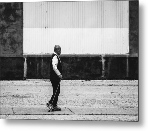 Black And White Street Photography Metal Print by Dylan Murphy