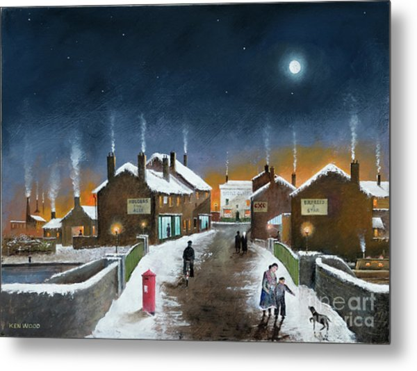 Black Country Winter Metal Print