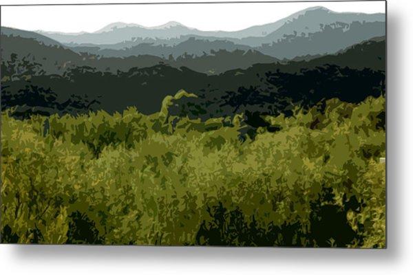 Black Mountains Metal Print by John Scariano