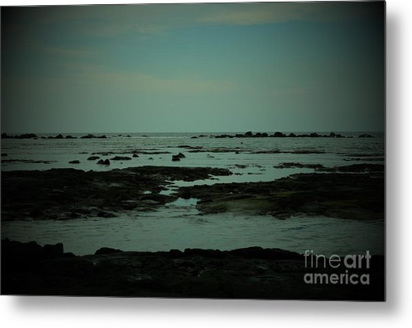 Black Rock Beach Metal Print