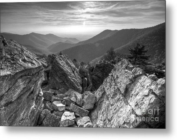 Black Rock Mountain Shenandoah National Park Metal Print