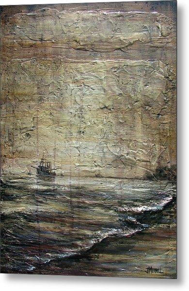 Black Tide Metal Print by Judy Merrell