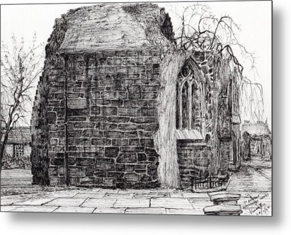 Blackfriars Chapel St Andrews Metal Print
